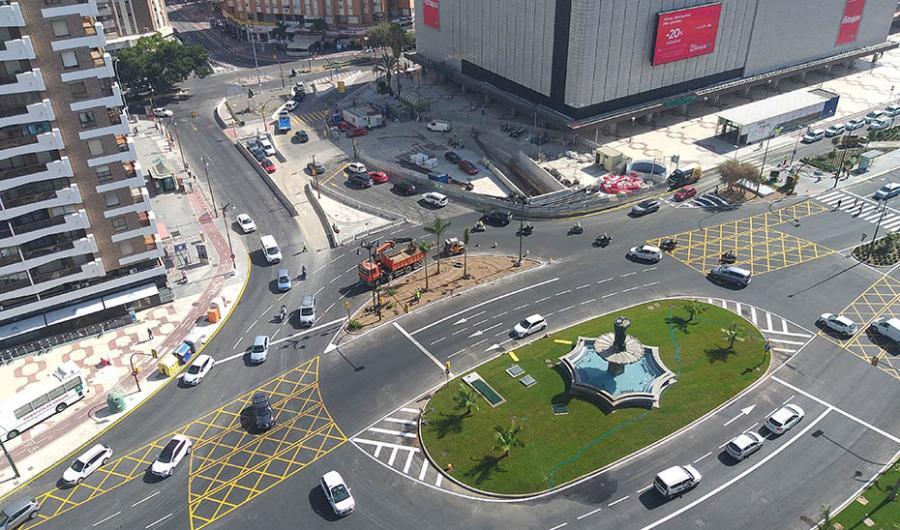 Málaga Málaga La Junta formaliza el contrato del proyecto del Metro de Málaga hasta el Hospital Civil