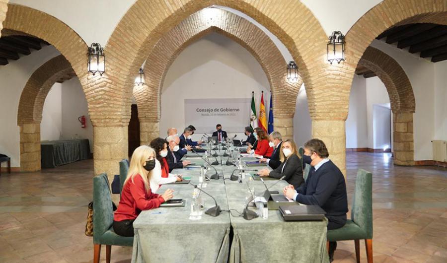 Andalucía Andalucía El Gobierno andaluz defiende el espíritu del 28F para superar las adversidades de la pandemia