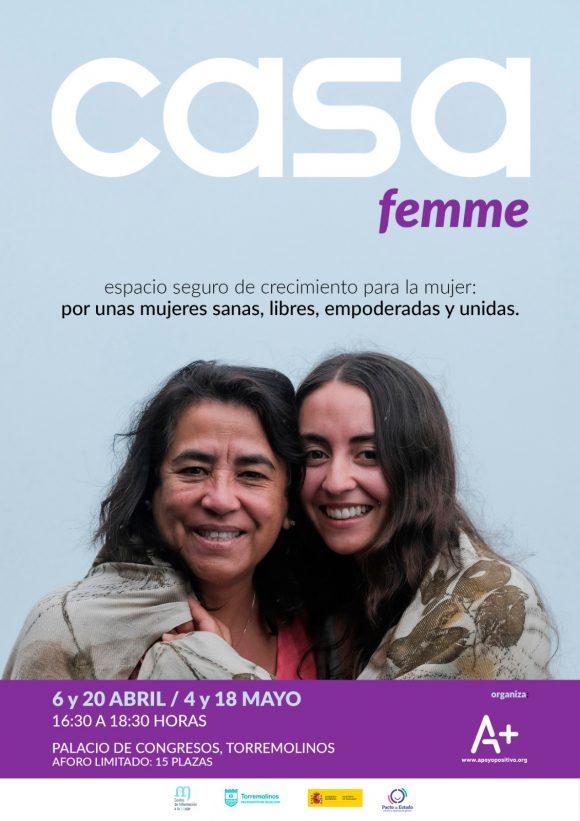 Torremolinos Torremolinos Casa Femme llega a Torremolinos en abril y mayo para formar a mujeres en Igualdad
