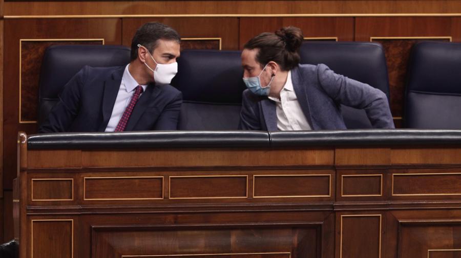 España España Sánchez acepta que Yolanda Díaz sustituya a Iglesias como vicepresidenta