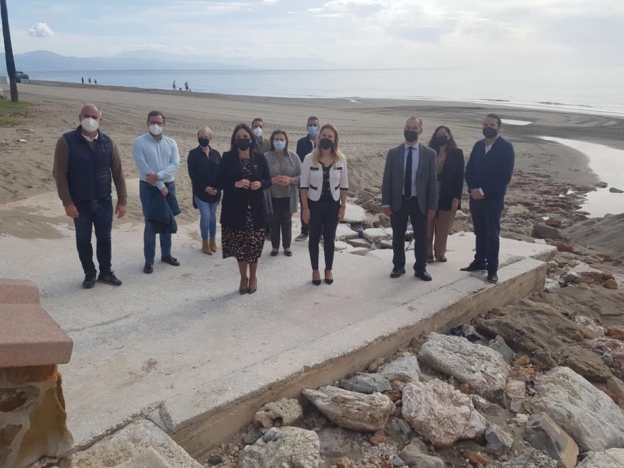 Torremolinos Torremolinos El PP exige al Gobierno un plan de actuaciones urgente para las playas ante la apertura de la movilidad entre provincias