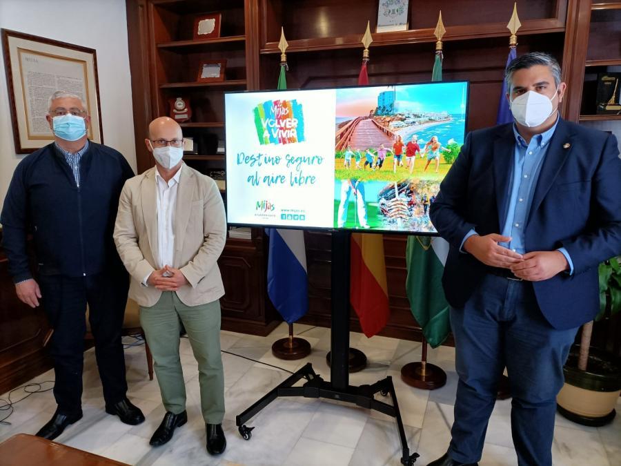Ayuntamientos Ayuntamientos 'Mijas, destino seguro al aire libre' aterriza en FITUR la próxima semana