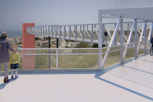 Torremolinos Torremolinos Torremolinos saca a licitación la obra del ascensor panorámico que unirá la avenida Carlota Alessandri con el Parque de la Batería