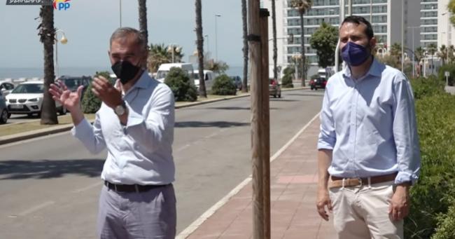Ayuntamientos Ayuntamientos El PP incide en el rechazo vecinal por la eliminación del carril en la costa de Benalmádena