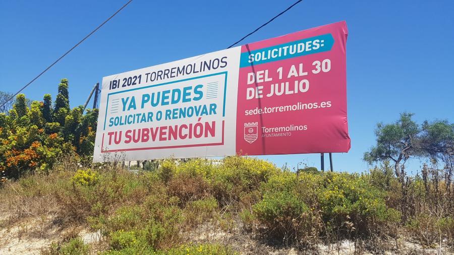 Torremolinos Torremolinos Torremolinos abre el plazo para solicitar la ayuda para el pago del IBI del 1 al 30 de julio