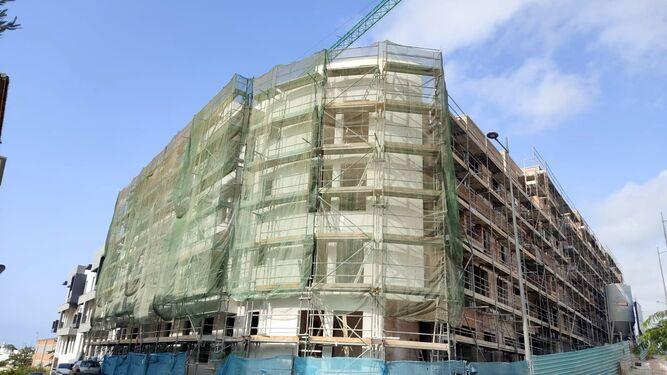 Ayuntamientos Ayuntamientos Las obras de construcción de 100 VPO en Estepona superan el 60% de su ejecución