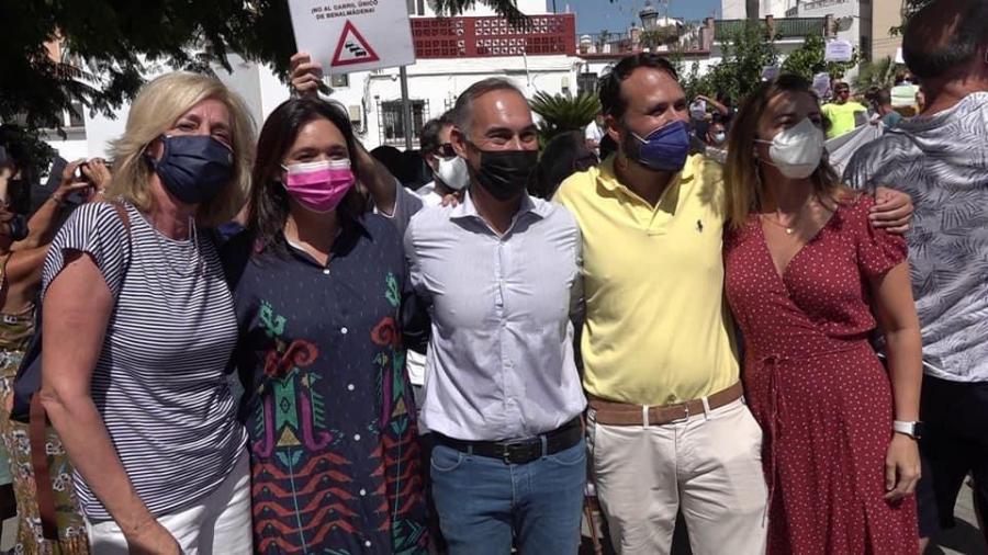 Ayuntamientos Ayuntamientos El PP valora el éxito de la manifestación vecinal contra el carril único y exige a Navas que escuche a la ciudadanía