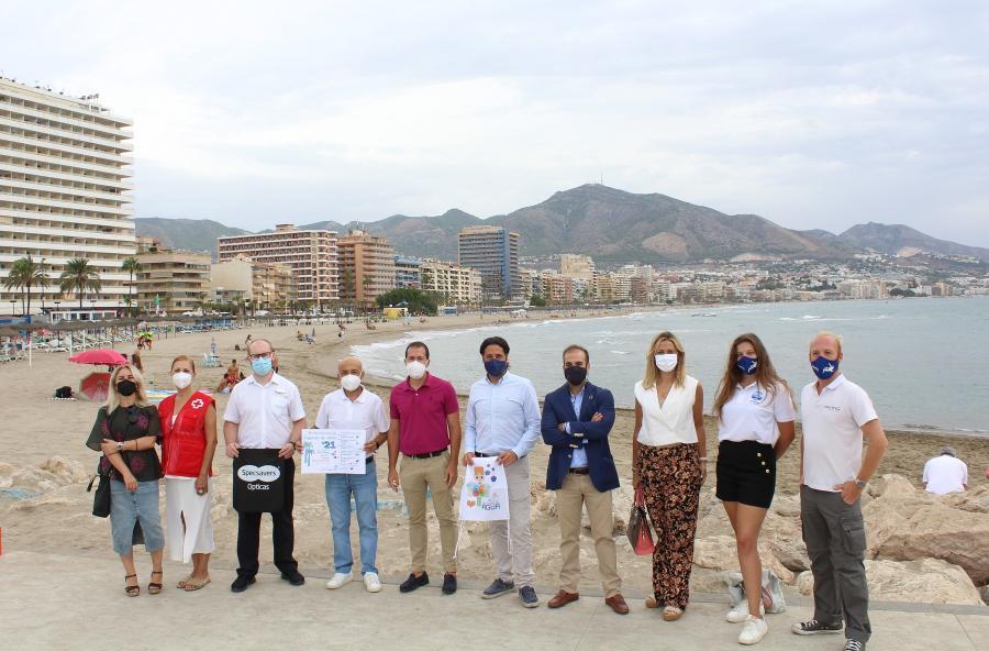 Ayuntamientos Ayuntamientos El Ayuntamiento de Fuengirola organiza una acción medioambiental en la playa de San Francisco por el Día Internacional de Limpieza de Costas