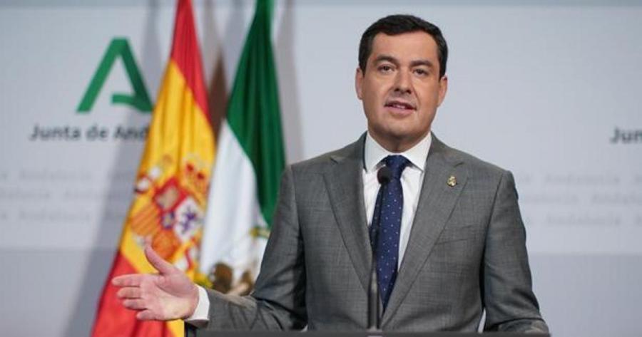 """Andalucía Andalucía Moreno pide seguir siendo """"prudentes"""" para """"convivir"""" con la pandemia aunque Andalucía vaya """"en buena dirección"""""""
