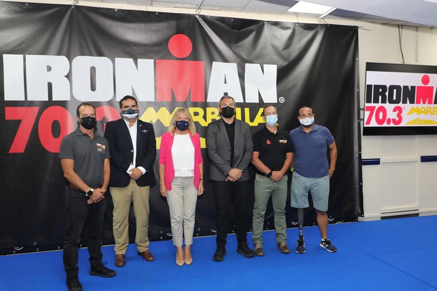 Deportes Deportes Ironman 70.3 reunirá en Marbella este domingo a 1.300 triatletas procedentes de más de 60 países