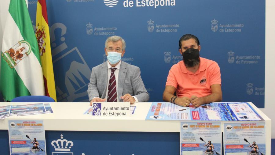 Ayuntamientos Ayuntamientos El Ayuntamiento de Estepona colabora con el nuevo reto benéfico que llevará a cabo el deportista adaptado Alejandro Navarro