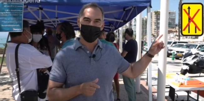 Ayuntamientos Ayuntamientos El PP de Benalmádena ha verificado que no se están haciendo mediciones de CO2 en la «prueba» de Navas en la Costa