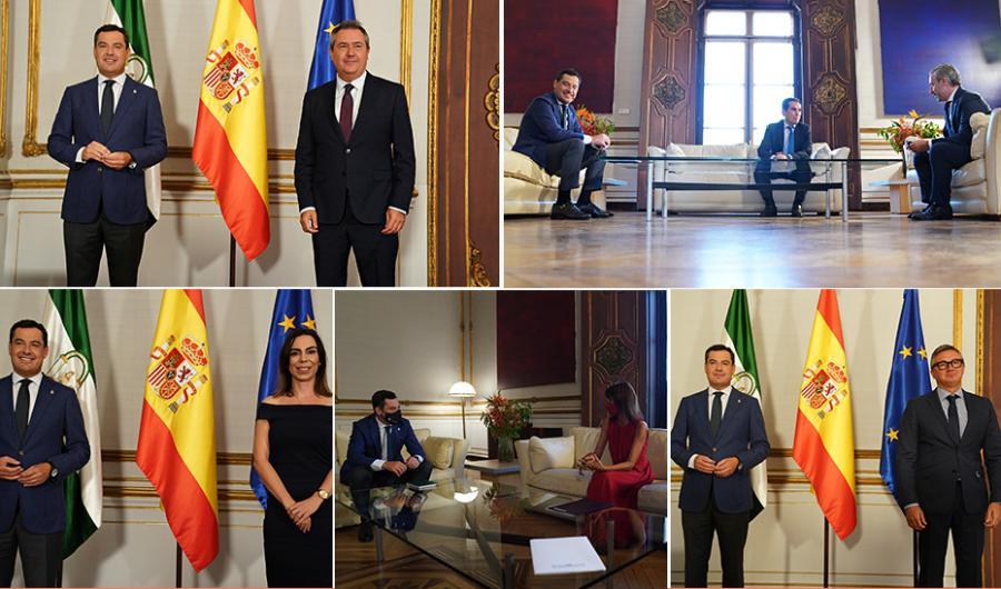 """Andalucía Andalucía El Gobierno andaluz apuesta por """"el diálogo hasta la extenuación"""" para sacar adelante los Presupuestos de 2022"""