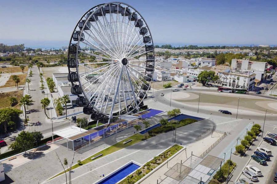 Ayuntamientos Ayuntamientos El Ayuntamiento da un nuevo paso para impulsar la instalación permanente de una noria panorámica en la zona oeste del bulevar de San Pedro Alcántara