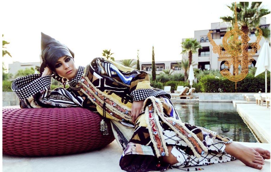 """Moda Moda Mujer La polifacética diseñadora Salima Abdel-Wahab crea ropa de """"segunda piel"""" de inspiración oriental que se ajusta a cualquier personalidad"""