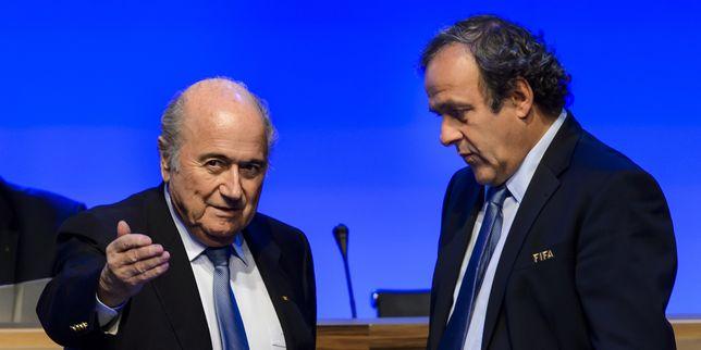 France News France News FIFA : les suspensions de Blatter et de Platini confirmées en appel, mais réduites